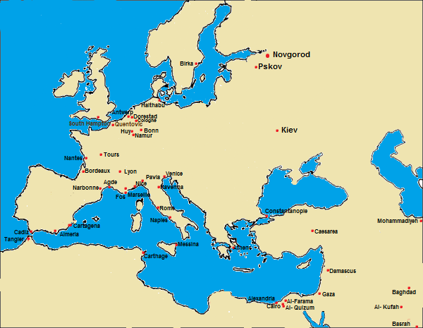 Trade Routes « Economics in the Early Middle Ages on